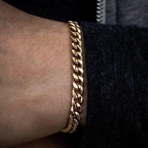 6mm Gold Cuban Link bracelet